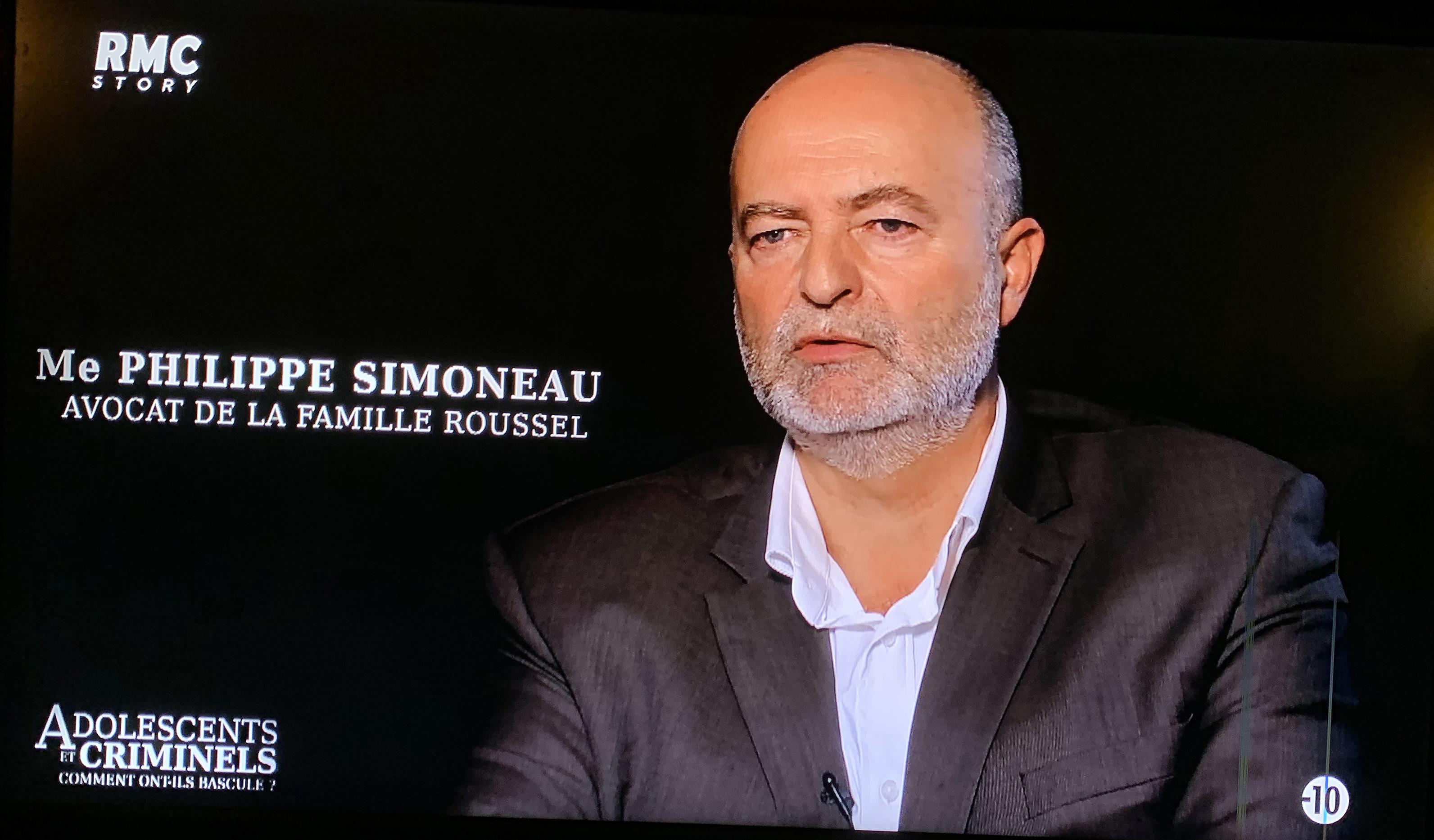 Philippe Simoneau, Maxime Roussel, RMC Story